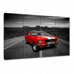 Obraz 120x80cm Czerwony...