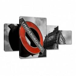 Obraz 130x80cm Znak London...