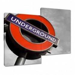Obraz 80x70cm Anglia Metro...
