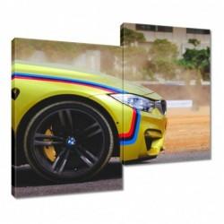 Obraz 80x70cm BMW Samochód...