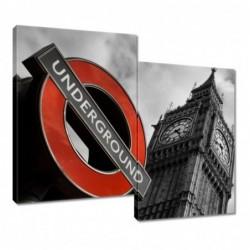 Obraz 80x70cm Znak London...