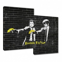 Obraz 80x70cm Banksy Banana...