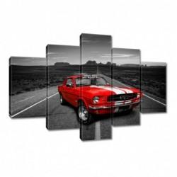 Obraz 150x105cm Czerwony...