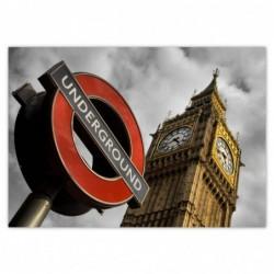 Plakat 100x70cm Big Ben