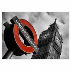 Plakat 100x70cm Znak London...