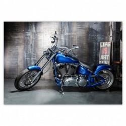 Plakat 100x70cm Niebieski...
