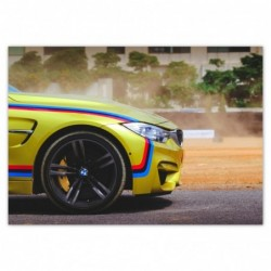 Plakat 100x70cm BMW...