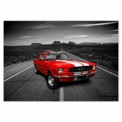 Plakat 100x70cm Czerwony...