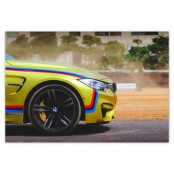 Plakat 200x135cm BMW...