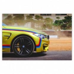Plakat 120x80cm BMW...