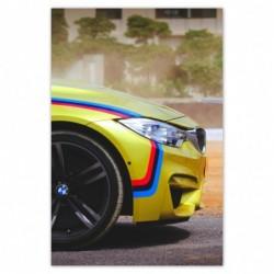 Plakat 80x120cm BMW...