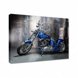 Zegar 60x40cm Niebieski...