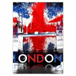 Naklejka 70x100cm London...