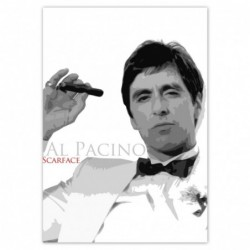 Naklejka 70x100cm Al Pacino...