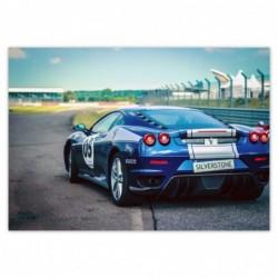 Naklejka 100x70cm Ferrari...