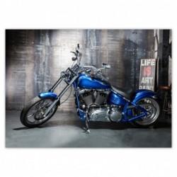 Naklejka 70x50cm Niebieski...