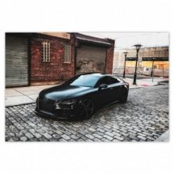 Plakat 93x62cm Audi...