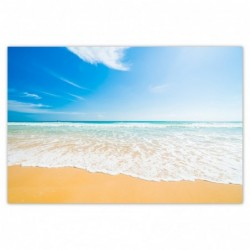 Plakat 93x62cm Plaża aż miło