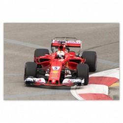 Plakat 93x62cm F1 Formuła...