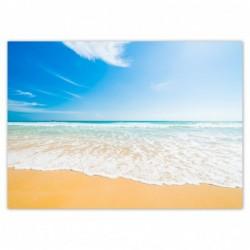Plakat 70x50cm Plaża aż miło