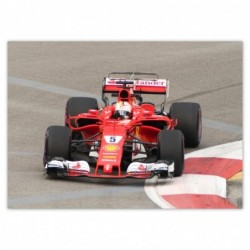 Plakat 70x50cm F1 Formuła...