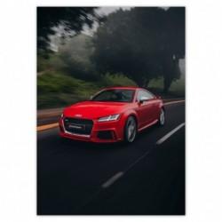Plakat 50x70cm Czerwone...