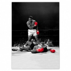 Plakat 50x70cm Muhhamad Ali...