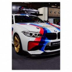 Plakat 50x70cm BMW Samochód