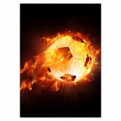 Plakat 50x70cm Piłka nożna...