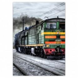 Plakat 50x70cm Pociąg...