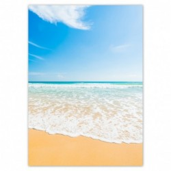 Plakat 50x70cm Plaża aż miło