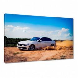 Obraz 60x40cm Drift BMW