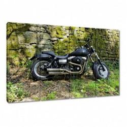Obraz 120x80cm Harleyem na...