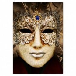 Naklejka 70x100cm Maska...