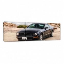 Obraz 90x30cm Czarny Ford...