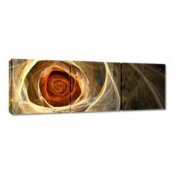 Obraz 90x30cm Róża fraktalna