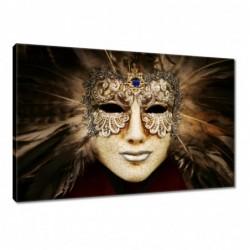 Obraz 60x40cm Maska wenecka