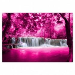 Fototapeta 312x219cm Różowy...