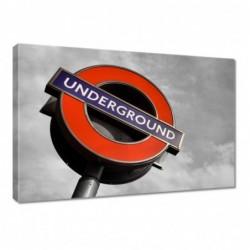 Obraz 60x40cm Anglia Metro...