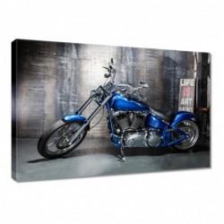 Obraz 60x40cm Niebieski...