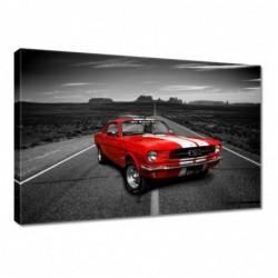 Obraz 60x40cm Czerwony Ford...