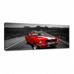 Obraz 100x40cm Czerwony...