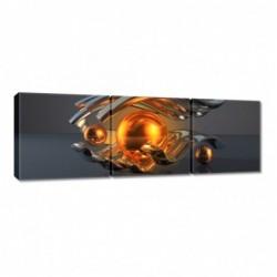 Obraz 90x30cm Abstrakcja...