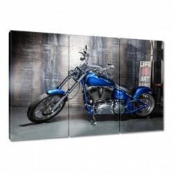 Obraz 120x80cm Niebieski...